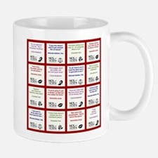 SATC COLLAGE (RED) Mug