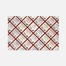 SATC COLLAGE (RED) Rectangle Magnet