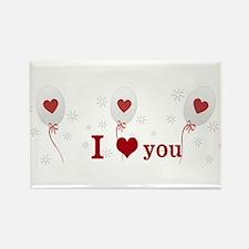 Love I Heart You Rectangle Magnet