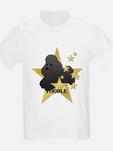 Poodle Stars T-Shirt