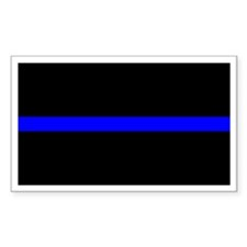 Cute Thin blue line corrections Decal