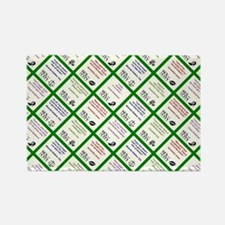 SATC COLLAGE (GREEN) Rectangle Magnet