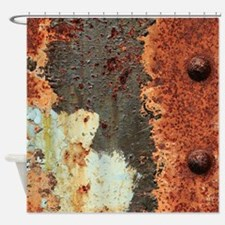 Rusty Shower Curtain
