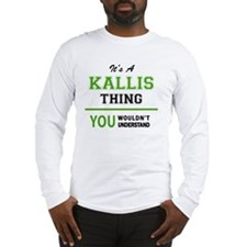 Cool Kallie Long Sleeve T-Shirt