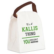 Cool Kallie Canvas Lunch Bag