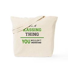 Unique Kass Tote Bag