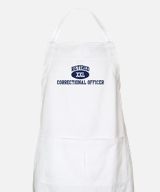 Retired Correctional Officer BBQ Apron