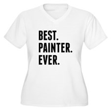 Best Painter Ever Plus Size T-Shirt