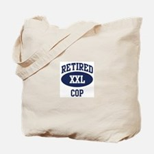 Retired Cop Tote Bag