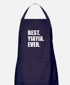 Best. YiaYia. Ever. Apron (dark)