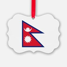 Nepalese flag Ornament