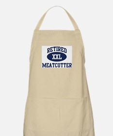 Retired Meatcutter BBQ Apron