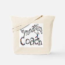 Gymnastics Coach Graphic Desi Tote Bag