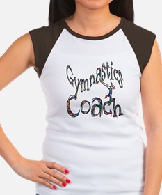 Gymnastics Coach Graphic Desi Women's Cap Sleeve T
