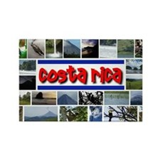 Cute Sloths of costa rica Rectangle Magnet
