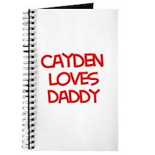 Cayden Loves Daddy Journal