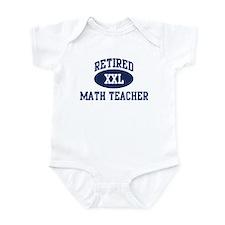Retired Math Teacher Infant Bodysuit