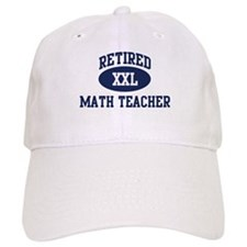Retired Math Teacher Baseball Cap