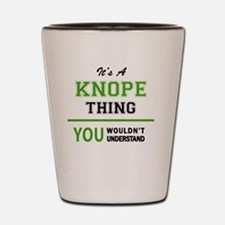 Funny Knope Shot Glass