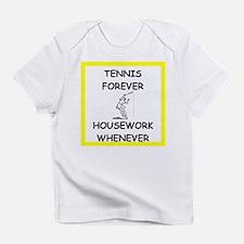 Unique Funny tennis Infant T-Shirt