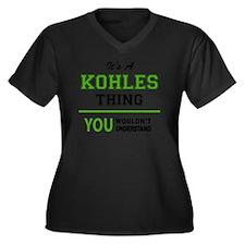 Unique Kohls Women's Plus Size V-Neck Dark T-Shirt