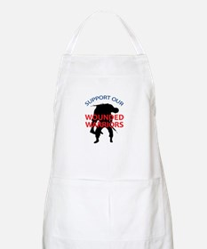 SUPPORT WOUNDED SOLDIERS Apron