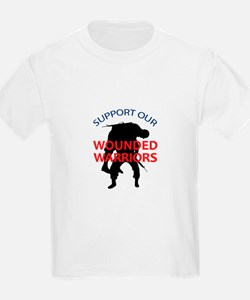 SUPPORT WOUNDED SOLDIERS T-Shirt