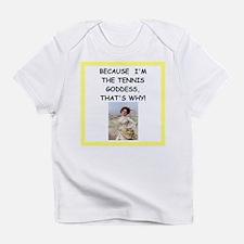 Cute Funny tennis Infant T-Shirt