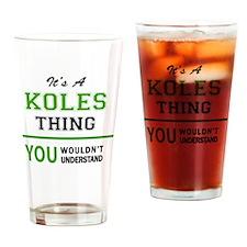 Unique Kole Drinking Glass