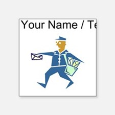 Custom Mail Carrier Sticker