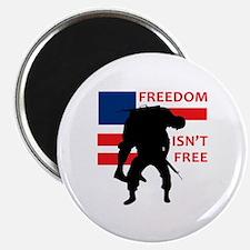 FREEDOM ISNT FREE Magnets