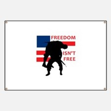 FREEDOM ISNT FREE Banner