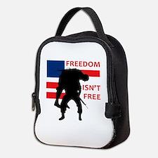 FREEDOM ISNT FREE Neoprene Lunch Bag