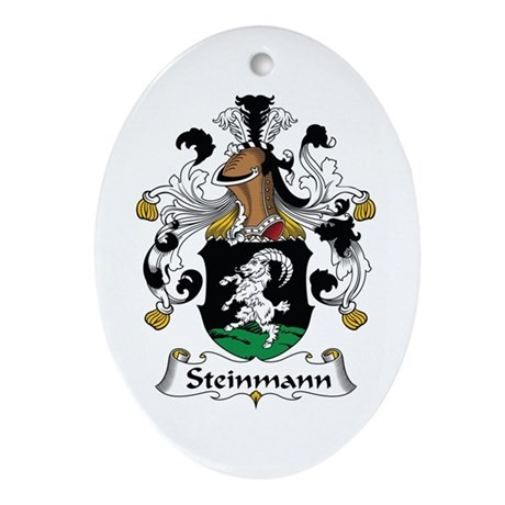 Steinmann Oval Ornament