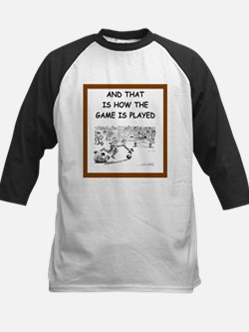 soccer joke Baseball Jersey