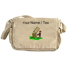 Custom Lumberjack Messenger Bag