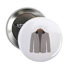 """Mens Sports Coat Jacket Menswear Suit 2.25"""" Button"""
