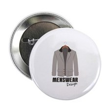 "Menswear Design 2.25"" Button (10 pack)"