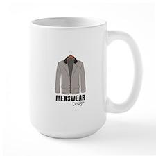 Menswear Design Mugs
