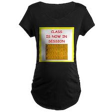 mahjong joke Maternity T-Shirt