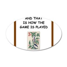 mahjong joke Wall Decal