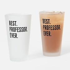 Best Professor Ever Drinking Glass