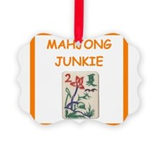 mahjong joke Ornament