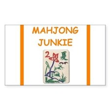 mahjong joke Decal