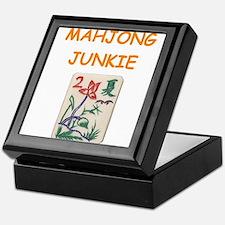 mahjong joke Keepsake Box