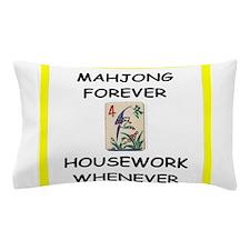 mahjong joke Pillow Case