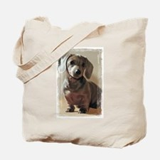 Dachshund Puppy Tote Bag