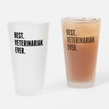 Best Veterinarian Ever Drinking Glass