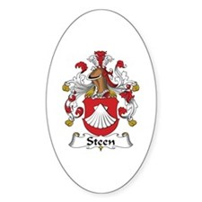 Steen Oval Decal