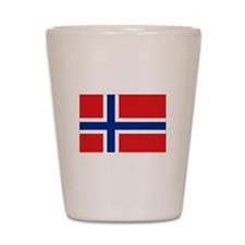 Norway flag Shot Glass